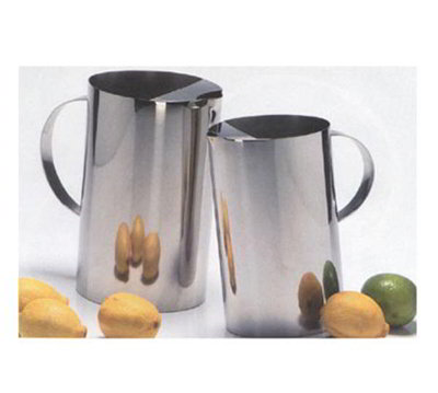 American Metalcraft SWP66 Slanted Water Pitcher 64 oz. Stainless Restaurant Supply