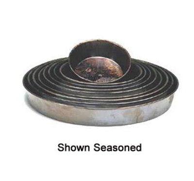 American Metalcraft T90671.5 Solid Stainless Tapered Pizza Pan 6 in Restaurant Supply