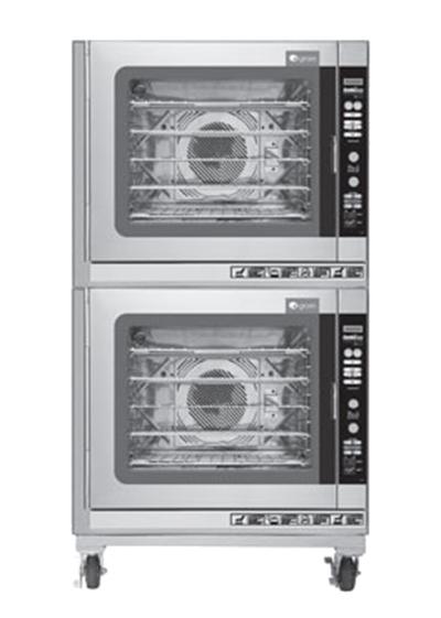 Groen (2)CBE-10GC Double Full-Size Combi-Oven, Boilerless, NG