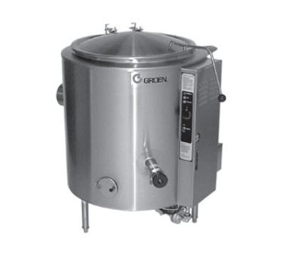 Groen AH-1E-100 Kettle, 100 Gallon, S/S Liner & Insulated Body, 2/3 Jacket, SS, Gas