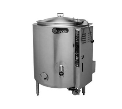Groen AHS-40 LP Low Height 40-gal Kettle, Full Jacket, LP
