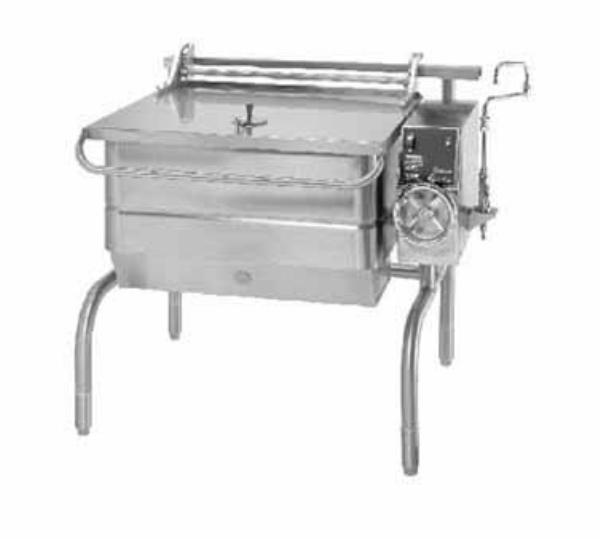 Groen BPM-30E Eclipse Braising Pan, 30 Gallon, Manual Tilt, S/S, Electric
