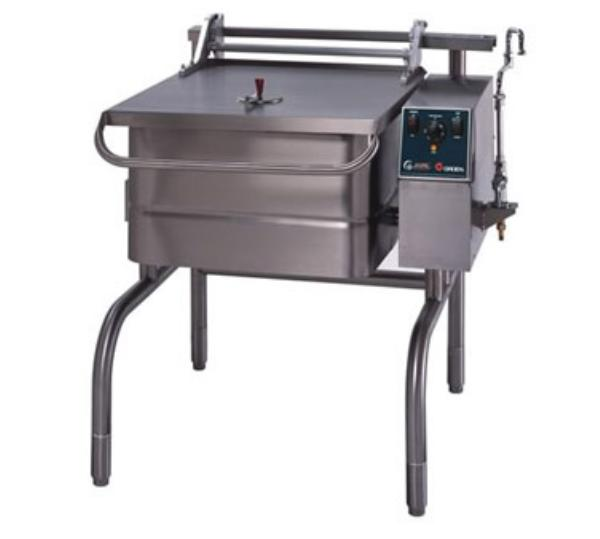 Groen BPP-40E Eclipse Braising Pan, 40 Gallon, Power Tilt, S/S, Electric