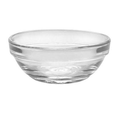 Duralex 2021AC04/4 3-in Stackable Bowl w/ Impact & Chip Resistant, 4-Set, Glass