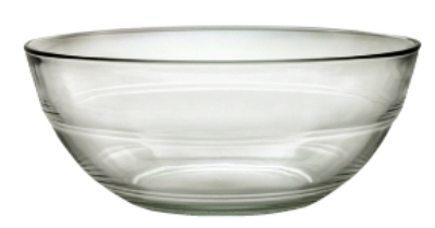 Duralex 510920M91 10-1/4 in Lys Mixing Bowl, Clear