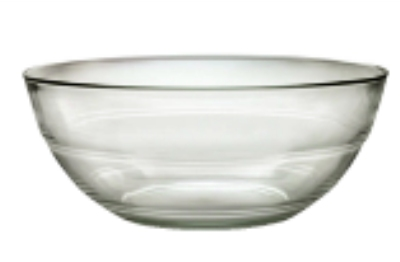 Duralex 511630M98 4-1/8 in Lys Mixing Bowl, Clear