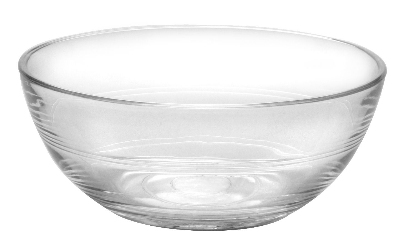 Duralex 511640M98 4-3/4 in Lys Mixing Bowl, Clear