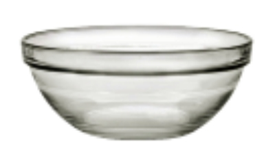 Duralex 511710C67 3 in Lys Mixing Bowl w/ Stackab