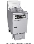 Twin 25-30 lb Tank Fryer w/ Filter, Solid State, LP