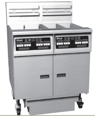 Pitco 2-SE14RSSTC-S/FD Electric Fryer - (2) 50-lb Vat, Floor Model, 208v/1ph