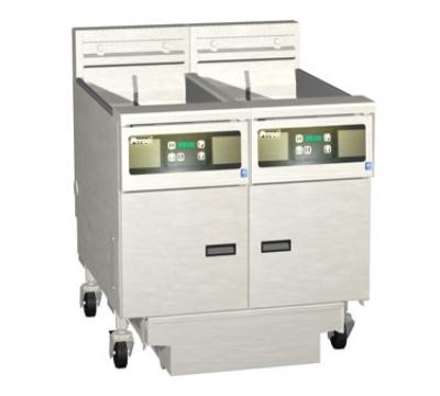 Pitco 2-SE18RC-S/FD-2201 (2) 70-90 lb Solstice Fryers & FilterDrawer High Power Computer 220/1 Restaurant Supply