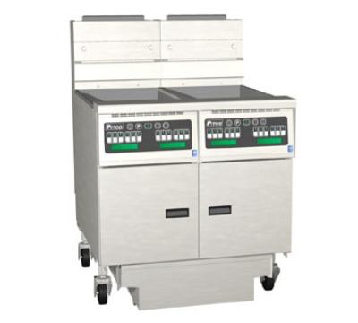 Pitco 2-SG18C-S/FD NG (2) 70-90 lb Solstice Fryers & FilterDrawer, 280,000 BTU, Computer, NG