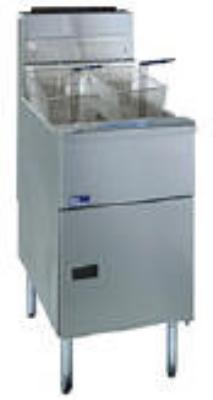 Pitco 2-SSH60WC-S/FD NG (2) 50-60 lb Solstice Supreme Fryer & FilterDrawer 200,000 BTU Computer NG Restaurant Supply