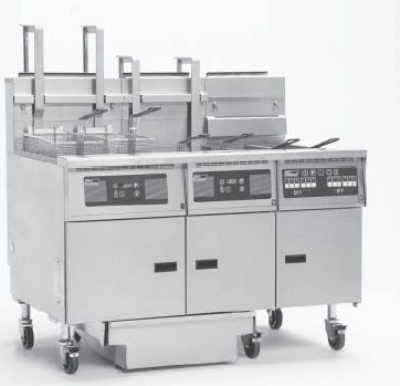 Pitco 3-SG14R S/FD LP Fryer w/ Filter, (3) 50-lb Full Tanks, Millivolt, High Power, LP