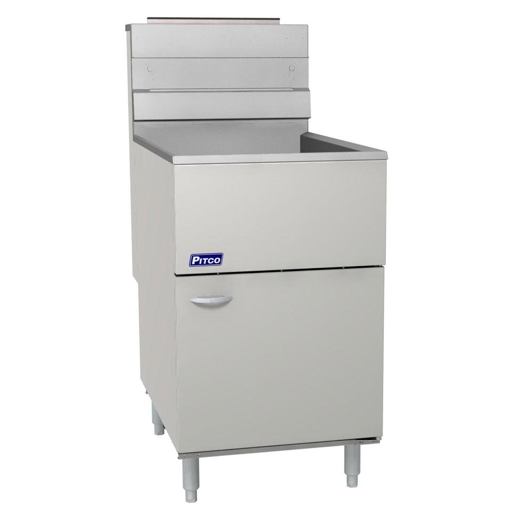 Pitco 65C+SLP Gas Fryer - (2) 50-lb Vat, Floor Model, LP