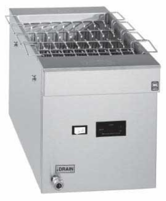 Pitco CRTE SS 208/1 6-galFull Tank Rethermalizer, Digital, Manuel Water Fill, 208/1 V