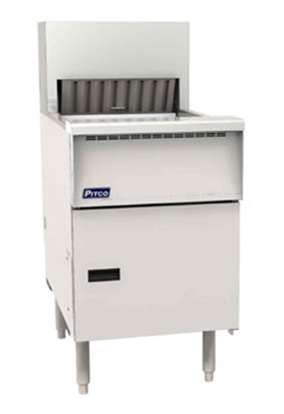 Pitco PCF-18 Electric Fry Dump Station - Underburner, 120v