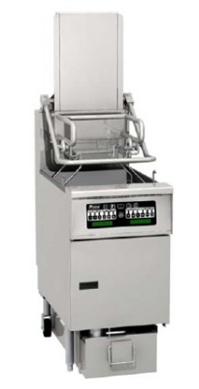 Pitco SFSG6H-PC LP 85-lb Rack Fryer w/ Filter, Computer, 14 x 18-in Cook Area, LP