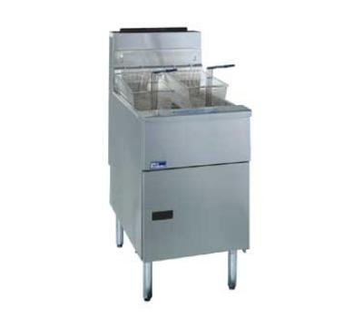Pitco SG18D-S NG 70-90 lb Solstice Fryer Melt Cycle Digital & Timer 140,000 BTU NG Restaurant Supply