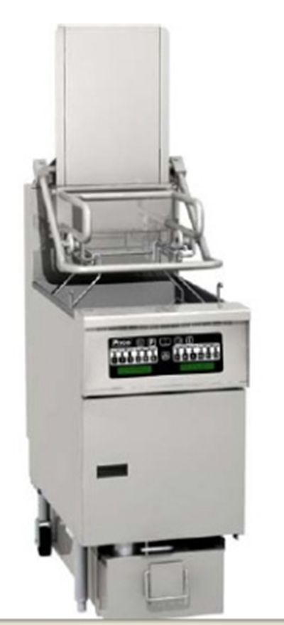 Pitco SG6H-PC NG 85-lb Rack Fryer w/ EZ-Lift, Computer, 14 x 18-in Cook Area, NG