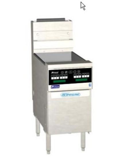 Pitco SSH75-SSTC-S NG Gas Fryer - (1)75-lb Vat, Floor Model, NG