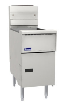 Pitco VF-35S NG 35-lb Fryer w/ Millivolt Control, All Stainless, NG