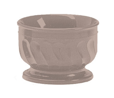 Dinex DX320031 5-oz Insulated Pedestal Base Bowl For Turnbury, Latte