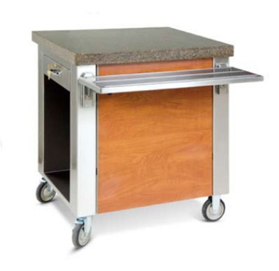 Dinex DXDCSD 30-in Cashier Stand w/ Drawer, Stainless Top, Front & End Panels