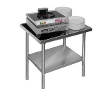 Dinex DXICTABLE 30.5-in Stationary Table w/ Open Base, For Power-Therm Induction Charger