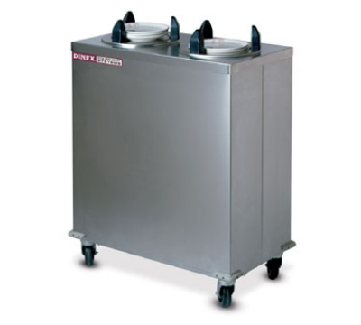 Dinex DXIDPH2E1012 10-1/8-in Enclosed Heated Plate Dispenser w/ 50 Plate Or 36 Bowl Capacity
