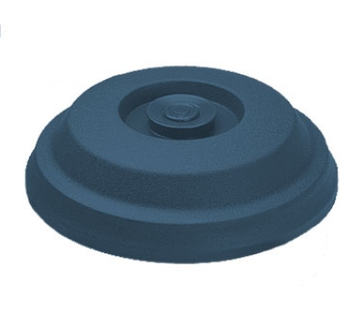 "Dinex DX117350 Low Profile Insul-Dome for 9"" Plates -  Midnight B"
