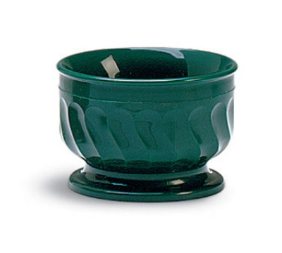 Dinex DX320008 5-oz Insulated Pedestal Base Bowl For Turnbury, Hunter Green