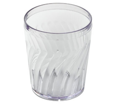 Dinex DX4GC1207 12-oz Swirl Tumbler, Clear