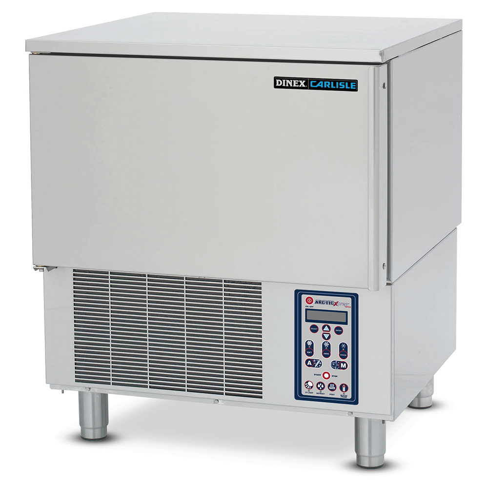 "Dinex DXDBC45 28.25"" under counter Blast Chiller - (4) Full Hotel Pan Capacity, 208v/1ph"