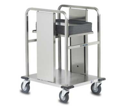 Dinex DXIDT1S1520 Open Mobile Tray Dispenser w/ 150 Tray Capacity, 15 x 20-in