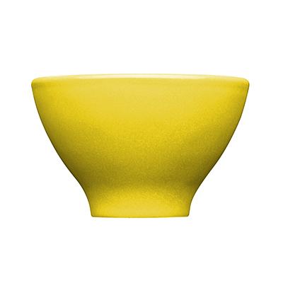 Emile Henry 032110 7 oz Ceramic Japanese Cup, 4 in Diameter, Citron Yellow
