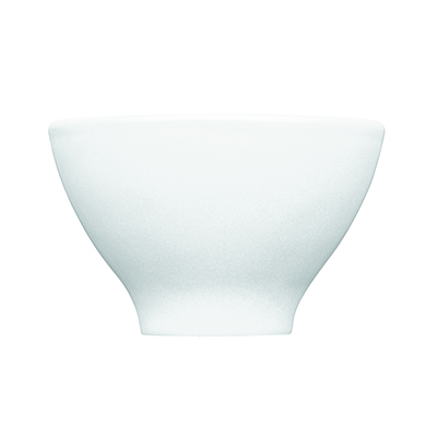 Emile Henry 052110 7 oz Ceramic Japanese Cup, 4 in Diameter, Blanc White