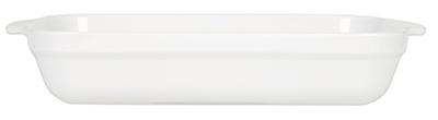 Emile Henry 059636 5-2/5 qt Ceramic Lasagna Dish, 14-1/2 x 11 in, Blanc White