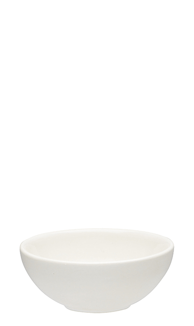 Emile Henry 112111 EA 4.3-in Ceramic Mini Bowl, Nougat White