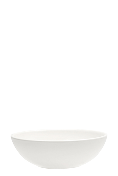 Emile Henry 112116 EA 6-in Ceramic Salad Bowl, Nougat White