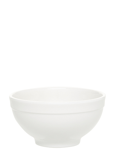 Emile Henry 112121 EA Ceramic Cereal Bowl, 5.5-in Round, Nougat White