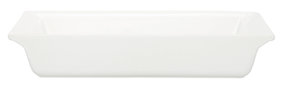 Emile Henry 119604 2 qt Ceramic Small Rectangular Dish, 11 x 8 in, Nougat White