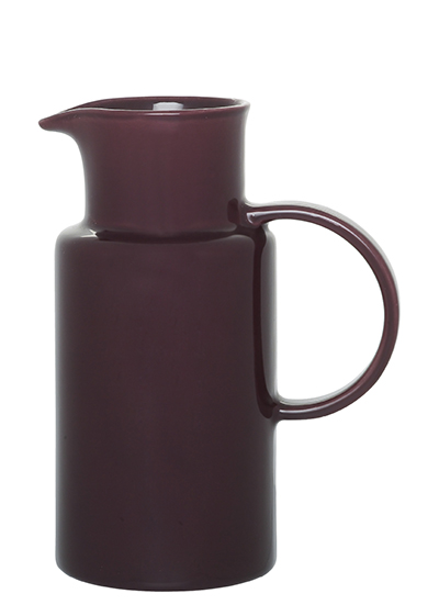 Emile Henry 371510 1 liter Ceramic Pitcher, Figue Purple, 2-Pack
