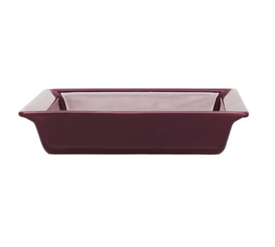 Emile Henry 372002EA 9-in Urban Colors Ceramic Baking Dish, Square, Figue