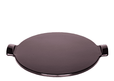 Emile Henry 377512 12-in Pizza Stone, Figue