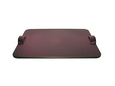 Emile Henry 377518 Flame Top Rectangular Baking Stone, Figue Purple