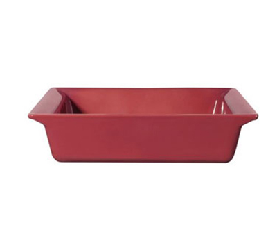 Emile Henry 422004EA 10-in Urban Colors Ceramic Baking Dish, Square, Raspberry