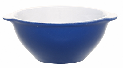 Emile Henry 532110 7 oz Ceramic Japanese Cup, 4 in Diameter, Azure Blue