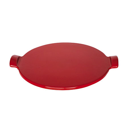 Emile Henry 617512 12-in Pizza Stone, Rouge
