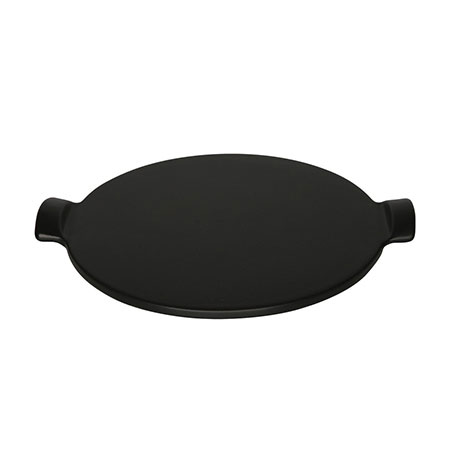 Emile Henry 717512 12-in Pizza Stone, Noir